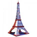 Ravensburger-12560 Puzzle 3D - Tour Eiffel PSG
