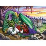 Puzzle  Ravensburger-12655 Pièces XXL - Reine des Dragons