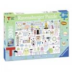 Puzzle  Ravensburger-12702 Pièces XXL - Triennale