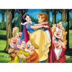 Puzzle  Ravensburger-12715 Blanche-Neige et son Prince