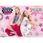 Puzzle  Ravensburger-12742 Pièces XXL - Maggie & Bianca