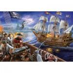 Puzzle  Ravensburger-12759 Pièces XXL - Pirates