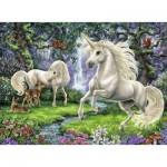 Puzzle  Ravensburger-12838 Pièces XXL - Licornes