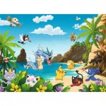Puzzle  Ravensburger-12840 Pièces XXL - Pokemon