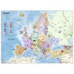 Puzzle  Ravensburger-12841 Pièces XXL - Carte d'Europe