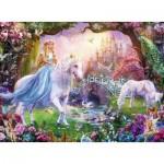 Puzzle  Ravensburger-12887 Pièces XXL - Licornes Magiques