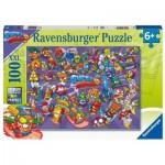 Puzzle  Ravensburger-12914 Pièces XXL - Super Zings