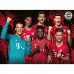 Puzzle  Ravensburger-12918 Pièces XXL - FC Bayern