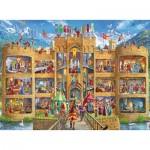 Puzzle  Ravensburger-12919 Pièces XXL - Knight's Castle