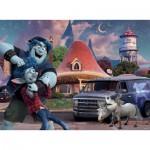 Puzzle  Ravensburger-12928 Pièces XXL - Disney Pixar - Onward
