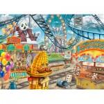 Ravensburger-12936 Exit Puzzle Kids - The Amusement Park