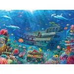 Puzzle  Ravensburger-12944 Pièces XXL - Ship Wreck