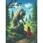Puzzle  Ravensburger-12988 Pièces XXL - Little Red Riding Hood