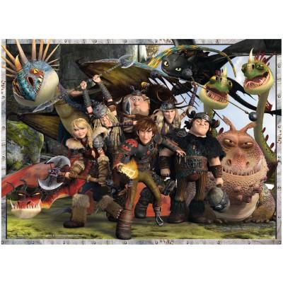 Puzzle Ravensburger-13198 Dragons 2