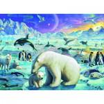 Puzzle  Ravensburger-13203 Pièces XXL - Animaux Polaires