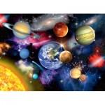 Puzzle  Ravensburger-13226 Pièces XXL - Système Solaire
