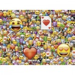 Puzzle  Ravensburger-13240 Pièces XXL - Emoji
