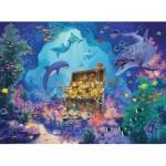Puzzle  Ravensburger-13255 Pièces XXL - Trésor des profondeurs