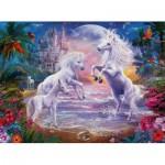 Puzzle  Ravensburger-13256 Pièces XXL - Le Paradis des Licornes