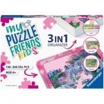 Ravensburger-13275 Boîte de Tri 3 en 1 - 100 - 300 Pièces XXL - Pink