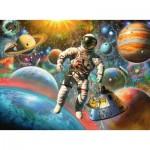 Puzzle  Ravensburger-13612 Pièces XXL - Star Line - Voyage dans l'Espace