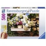 Puzzle  Ravensburger-13654 Pièces XXL - Fleurs et Chapeaux