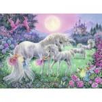 Puzzle  Ravensburger-13670 Licornes
