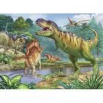 Puzzle  Ravensburger-13695 Pièces XXL - Dinosaures