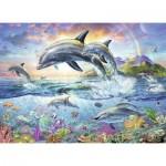 Puzzle  Ravensburger-13697 Coloring Booklet - Monde Sous-marin Coloré