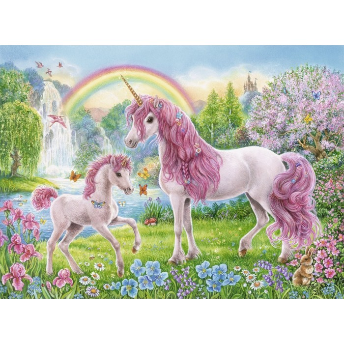 Coloring Booklet - Licornes Magiquess
