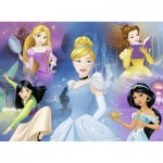 Puzzle  Ravensburger-13699 Disney Princess