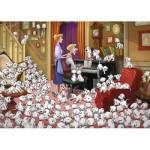 Puzzle  Ravensburger-13973 Disney - Les 101 Dalmatiens