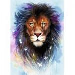 Puzzle  Ravensburger-13981 Lion Majestueux