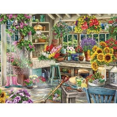 Puzzle Ravensburger-13996 Jardin Paradisiaque