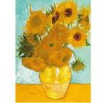 Puzzle  Ravensburger-14006 Van Gogh : Les Tournesols