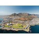 Puzzle  Ravensburger-14084 Cape Town, Afrique du Sud