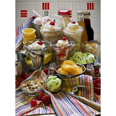 Puzzle Ravensburger-14114 Desserts