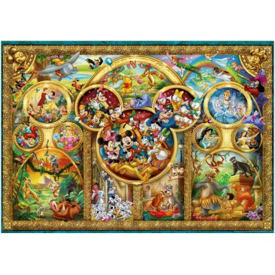 Puzzle Ravensburger-14183 Famille Disney