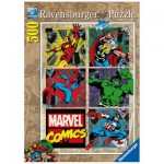 Puzzle  Ravensburger-14339 Aventures Avengers