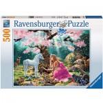 Puzzle  Ravensburger-14642 Rencontre Magique