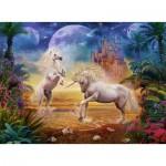 Puzzle  Ravensburger-14743 Licornes Fantastiques