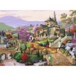 Puzzle  Ravensburger-14806 Retraite sur la Colline