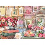 Puzzle  Ravensburger-14838 Vintage Tea Party