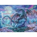 Puzzle  Ravensburger-14839 Dragon de Glace