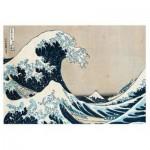 Puzzle  Ravensburger-14845 Hokusai - La Grande Vague