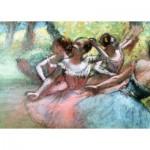 Puzzle  Ravensburger-14847 Degas Edgar - Quatre Ballerines sur la Scène