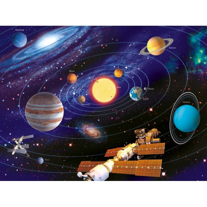 Puzzle phosphorescent - Le système solaire