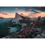 Puzzle  Ravensburger-15011 Nature Edition No 16 - Un Soir dans les Montagnes Rocheuses