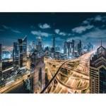 Puzzle  Ravensburger-15017 Vue sur Dubaï