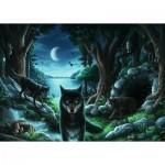 Ravensburger-15028 Exit Puzzle - Histoires de Loups
